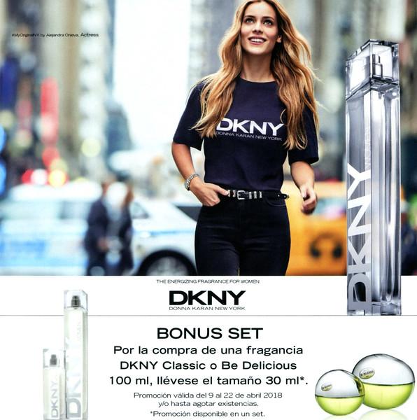 DONNA KARAN DKNY Women Energizing 2018 Spain (San Remo stores) format 20 x 20 cm <br /> 'The energizing fragrance for women - Bonus set'