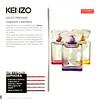 Couleur KENZO Diverse (Jaune-Yellow + Rose-Pink + Violet) 2014 Spain (Sephora stores) format 19 x 19 cm 'Kenzo Perfumes - Llamativo y eléctrico'