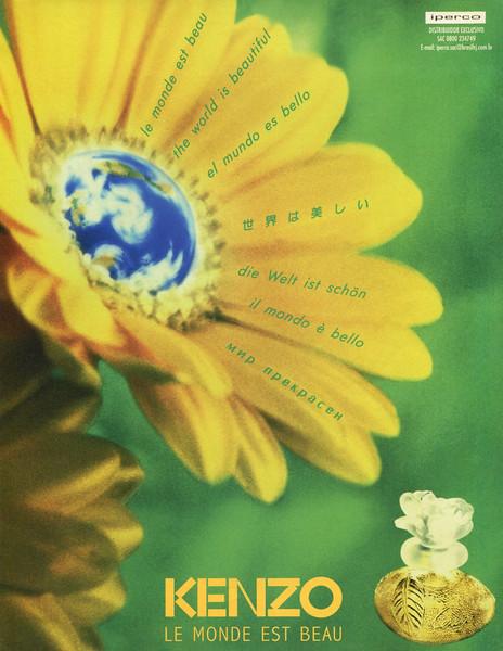 d0421e74 KENZO Le Monde Est Beau 1998 Brazil