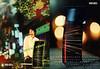 Tokyo by KENZO 2007 France (recto-verso card 10,5 x 14,5 cm with scent sticker 'Boisé - Aromatique - Électrique'