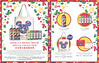 KIEHL'S Mickey Mouse Special lCollection (Crème de Corps  & Lip Balm) 2017 Hong Kong (recto-verso card 15 x 18,5 cm) 'An amazing collabotarion emerges...'