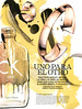 CALVIN KLEIN CK One Gold 2016 Spain (advertorial Fashion & Arts) 'Uno para el otro'<br /> <br /> ILLUSTRATION: Alicia Malesani