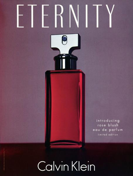 CALVIN KLEIN Eternity Rose Blush Limited Edition 2002 Spain bis 'Introducing Rose Blush Eau de Parfum Limited Edition '