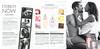 CALVIN KLEIN Eternity Now 2015 Spain 3 pages (handbag size format) 'jasmine &  tobias  - una historia de amor real - forever starts now - new fragrances for women and men'