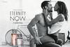 CALVIN KLEIN Eternity Now 2015 Germany spread (handbag size format) 'Forever starts now - New fragrances for women and men'
