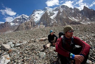 Broad Peak looms above us.