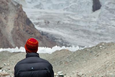 Rich looking towards K2.