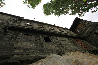 The restored Shigar Fort.  The Agha Khan had paid for this and then turned it over to locals for maintenance.