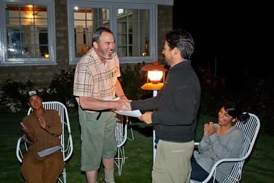 Ignacio gets recognized.