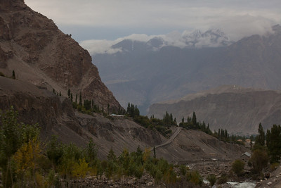 Going towards Skardu.  We were hoping to stop at a historic site which has a Buddha statue but our driver got lost even though Ibrahim kept trying to tell him which way to go.