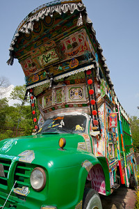 A truck at Lok Virsa.