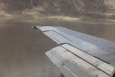 Massive flooding on the indus.  It seemed you were flying over a huge lake...and this was the headwater.  Far downstream, the Indus just got terrifyingly large.
