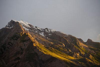 The mountains ringing Korophon.
