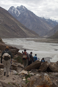We see part of the Masherbrum range to the right.
