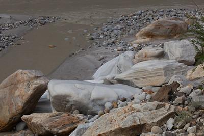 More sculpted rocks.