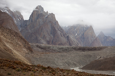 It was really cool how every day you would take a new turn in the valley and see mountains that you had never seen before.  Murad had his analogy of K2 being a beautiful woman who revealed her face a little at a time.