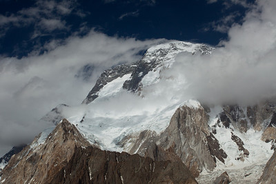 We get overshadowed by Broad Peak which is the 12th highest peak in the world at 8051 m or 26,414 feet only about 500 meters shorter than K2.