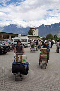 This is the extent of the Skardu terminal.