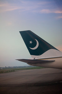 Landed at Lahore International.
