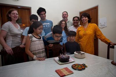 Asfandiyar's birthday.