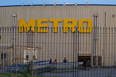 Next stop Metro.  It is like Costco and the place to buy stuff in bulk.