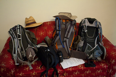 Ready to head to the airport for the Skardu flight.