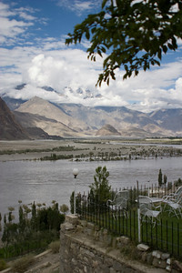 View over the Indus from the PTDC.