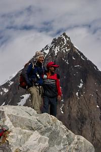 Ignacio and Ibrahim and a small peak.