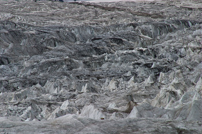 Ice formations on the upper Godwin-Austin.