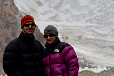 Rich and Tanya in front of K2.