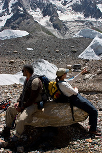 Adil and Tanya take in the whole of the Karakoram between them.