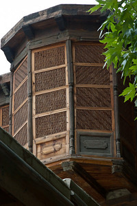 Some of the wood work was extraordinary.  Bay windows.