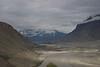 Looking downstream along the Braldu/Shigar River along the Shigar Valley.