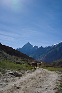 The path heading up the valley towards Askoli, the last village, the last piece of civilization, before heading into the wilderness of the Karakoram.
