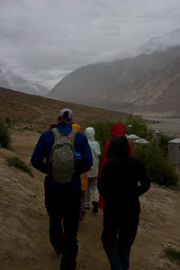 Today was our rest day in Paiju, to help us get acclimatized to the altitude.  We decided to take a short hike, at Ayub's request, to keep our muscles active.