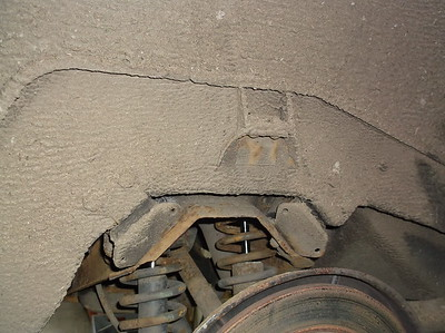 Missing Rear bump stop