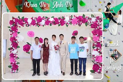 Khoa & Anh Wedding @ Adora Dong Phương   instant print photo booth for wedding in Ho Chi Minh City   Chụp ảnh in hình lấy liền Tiệc Cưới tại TP. Hồ Chí Minh   Photobooth Saigon