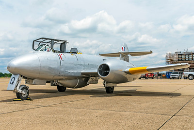 Gloster Meteor T7 G5-356460 N313Q 6-25-18 3