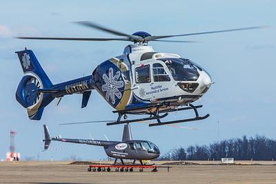 HealthNet Aeromedical Services Eurocopter EC135-P2 N111HN 2-20-18 2