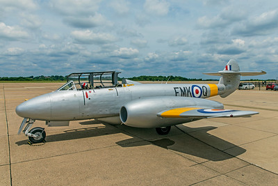 Gloster Meteor T7 G5-356460 N313Q 6-25-18