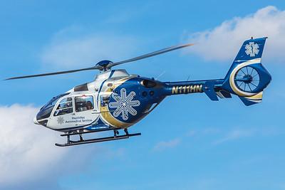 HealthNet Aeromedical Services Eurocopter EC135-P2 N111HN 2-20-18 3