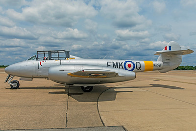Gloster Meteor T7 G5-356460 N313Q 6-25-18 4