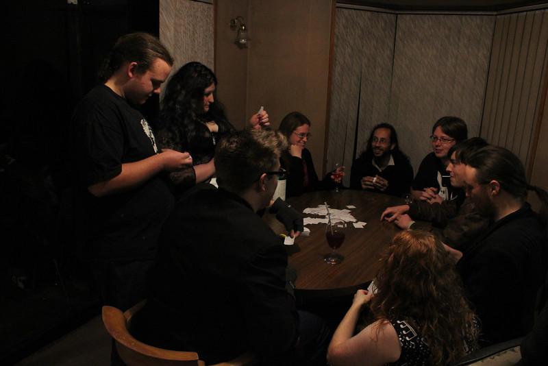 Cards against Humanity - Joel, Marama, Steven, Kerryn, Shanti, Lorna, JD, Jack, Liam (photo from Phil)