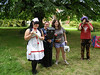 Medics Nurse Dolly, Rochelle weilding the Mace of Revivication and sarah with the Healing Axe of Doom