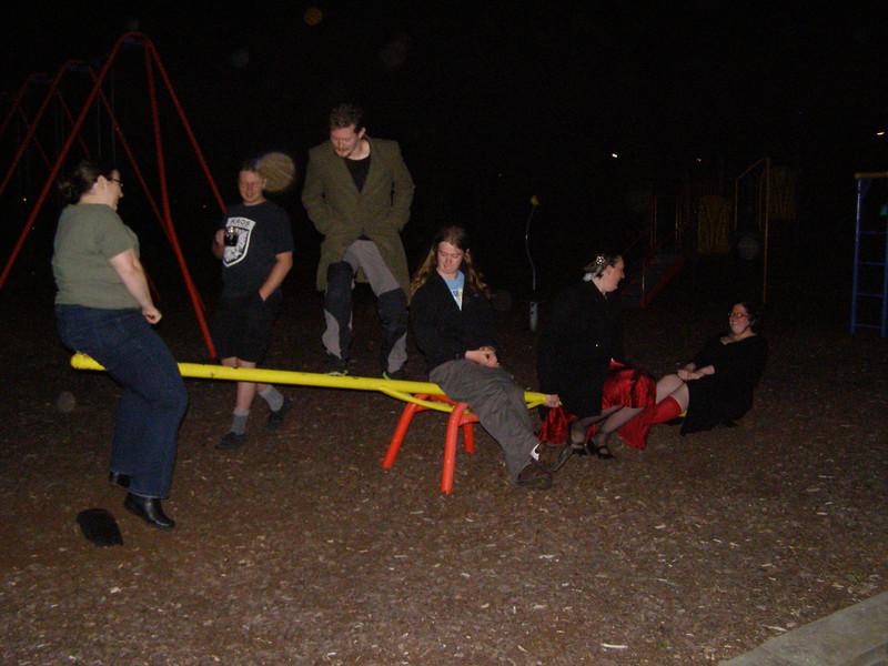 Laura, JD, Tim, Sam, Sam, Alison