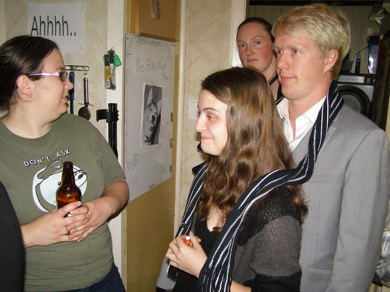 Laura, Sally, Sam, Declan