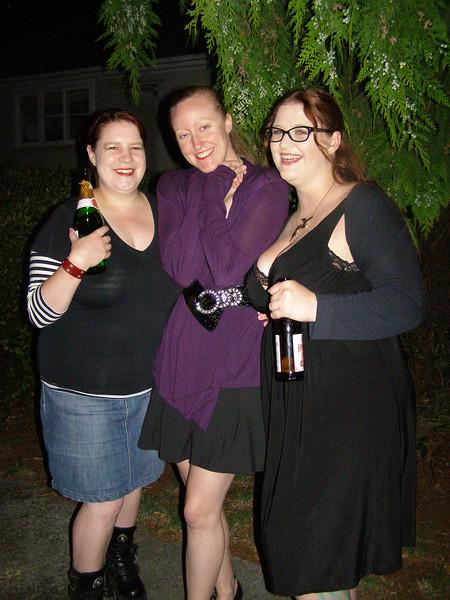 Amy, Bridgit, Storm