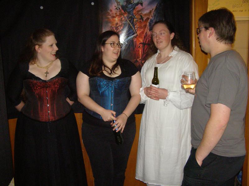 Leah, Laura, Sam, JD