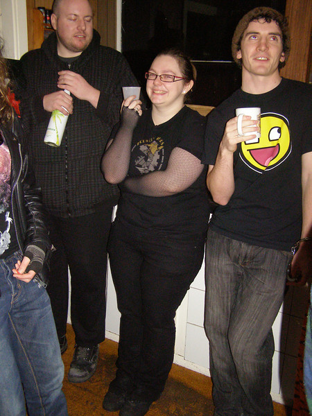 Chris, Karlia, Pat