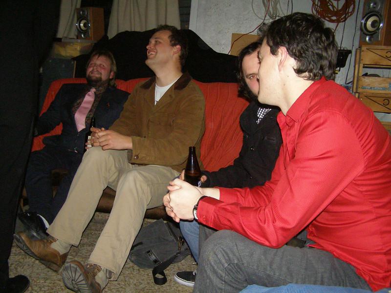 John, Ben, Cullen, Pete